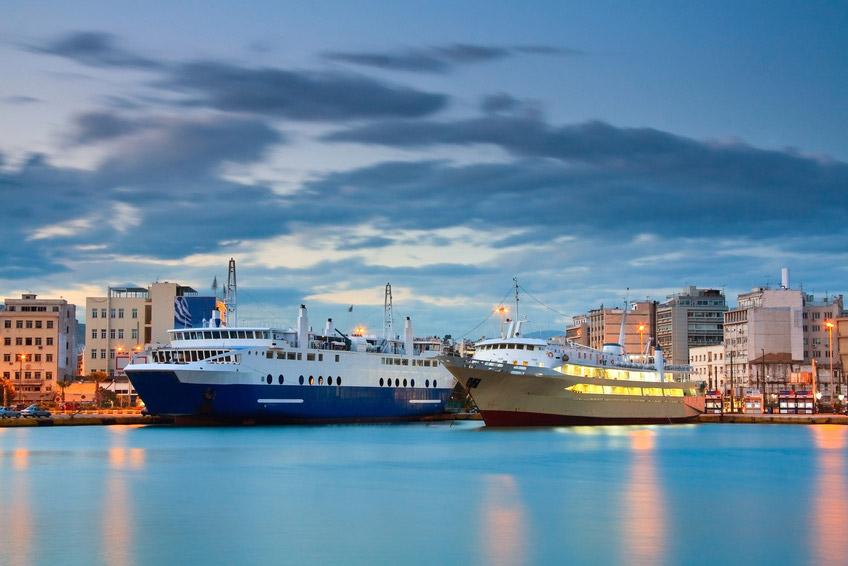 Transfer from Ports (Piraeus, Rafina, Lavrio)