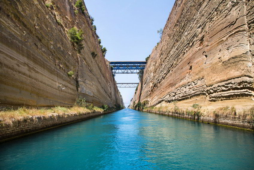 Ancient Corinth and Corinth Canal Half Day Tour